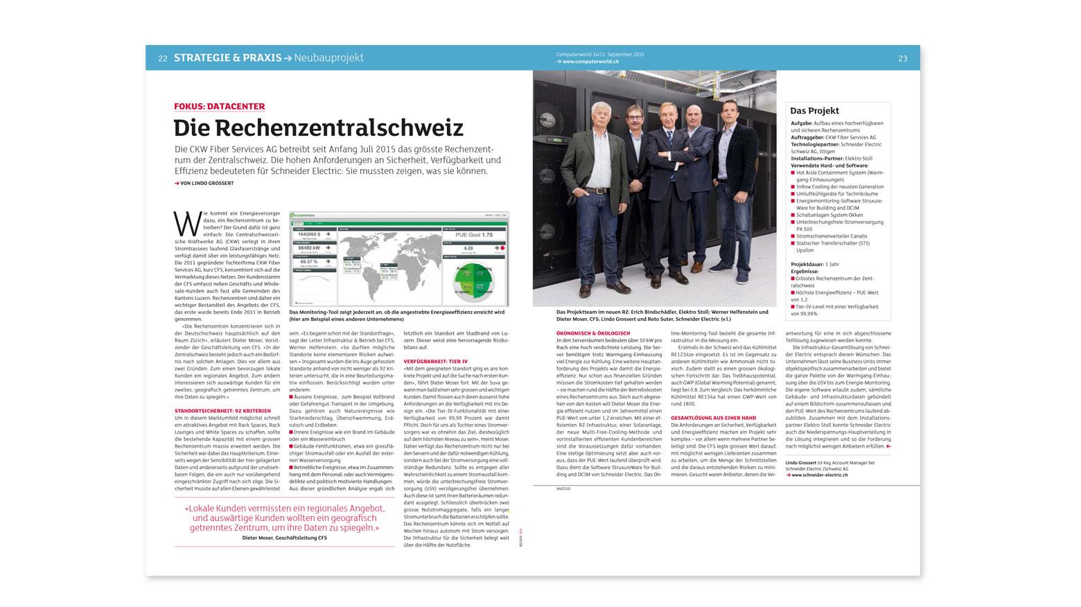Clipping Schneider Electric Computerworld